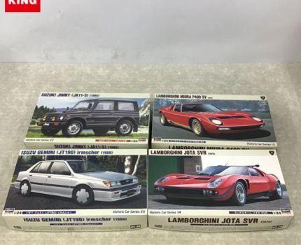 1円~ ハセガワ 1/24 ランボルギーニ ミウラ PS400SV スズキ ジムニー JA11-5型 他