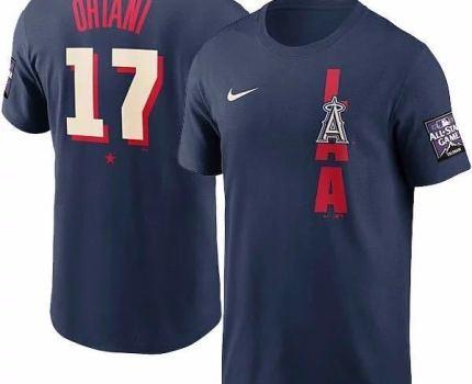 [送料無料] MLB 2021オールスターゲーム 大谷翔平 Tシャツ エンゼルス Nike Mサイズ ナイキ