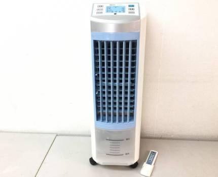 SKJ社製 冷風扇 SKJ-FM30R 冷風機 冷風器 冷風扇風機 扇風機 タワーファン 2015年製 エスケイジャパン リモコン付き 現状品