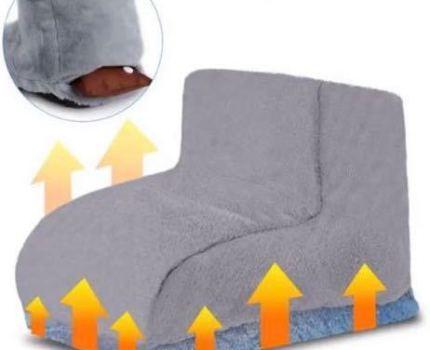 充電式 コードレス 湯たんぽ 足温器 フットウォーマー 充電式 足温器 過熱防止 日本語取説付 グレー ふわふわ あったか 冷え対策 オマケ付