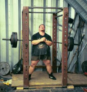 500 lb. Zercher Squat