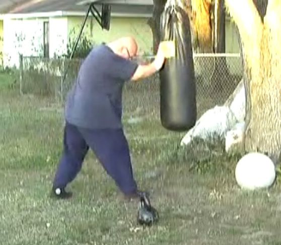 Hitting the Punching Bag