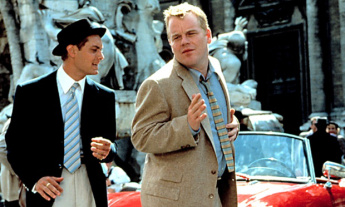 No Merchandising. Editorial Use Only. No Book Cover Usage Mandatory Credit: Photo by Everett Collection/REX (418284a) Jude Law and Philip Seymour Hoffman 'THE TALENTED MR RIPLEY' FILM STILLS - 1999