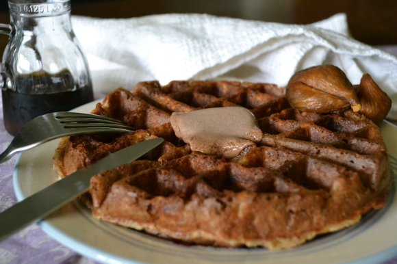 Chai Waffle w/ Butter