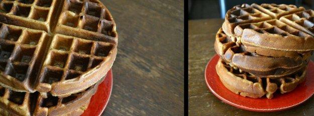 Vegan Apple Butter Waffles by An Unrefined Vegan