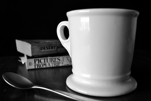 Cup and Books