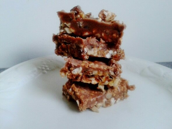 Choco Peanut Crunch Vee's Easy Vegan