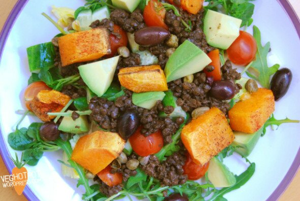 Lentil Salad VegHotPot