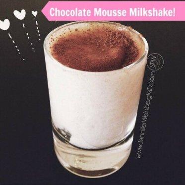 cacao moussemikshake