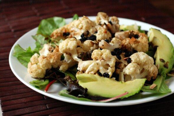 Roasted Cauli Salad