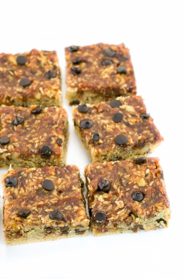 Vegan Date-Coconut-Walnut Shortbread Bars by An Unrefined Vegan