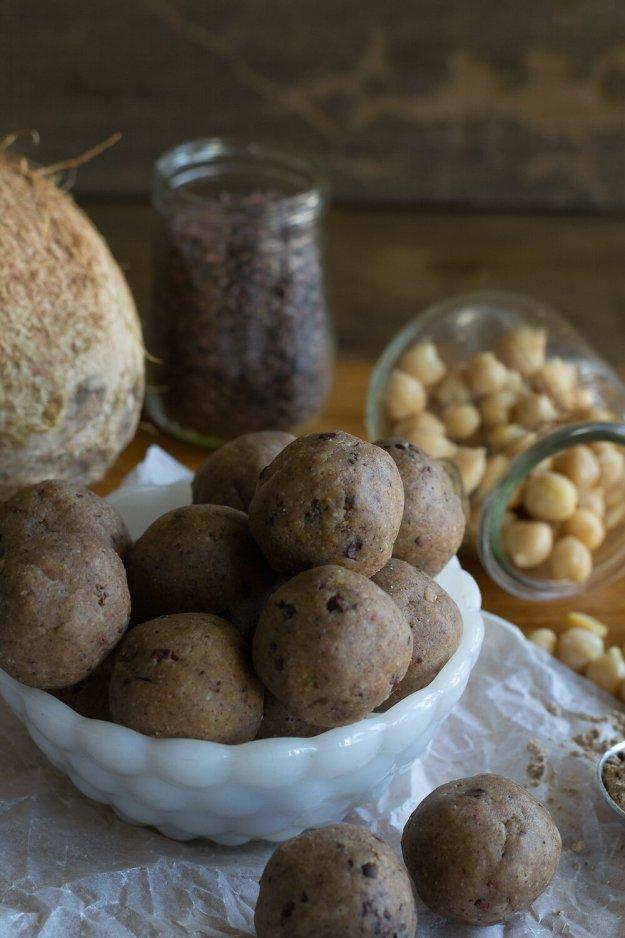 Cookie Dough Truffles Photo by An Unrefined Vegan