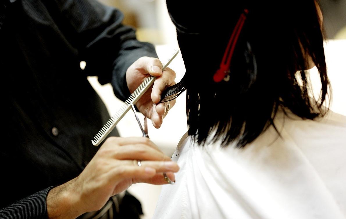 Hair Cutting Brushing Combing