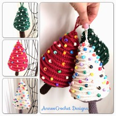 3. Tree Ornaments Free pattern By AnnooCrochet designs