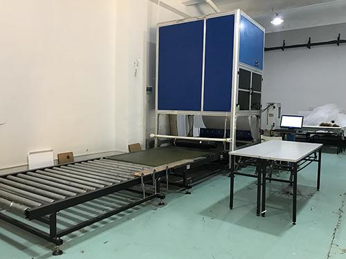 Laser print machine for lumisheet