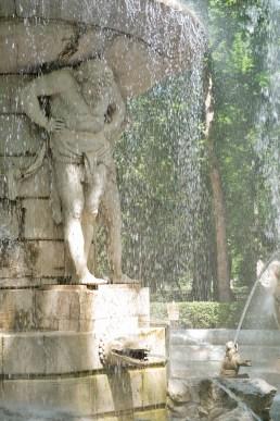 Aranjuez fuente narciso atlante
