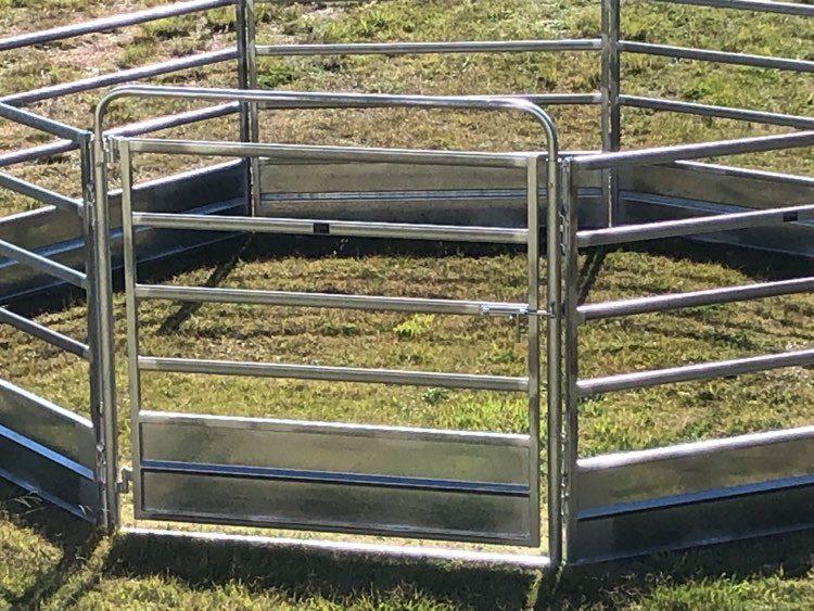 Horse Safe Skirted Rail - Gal Steel (1)