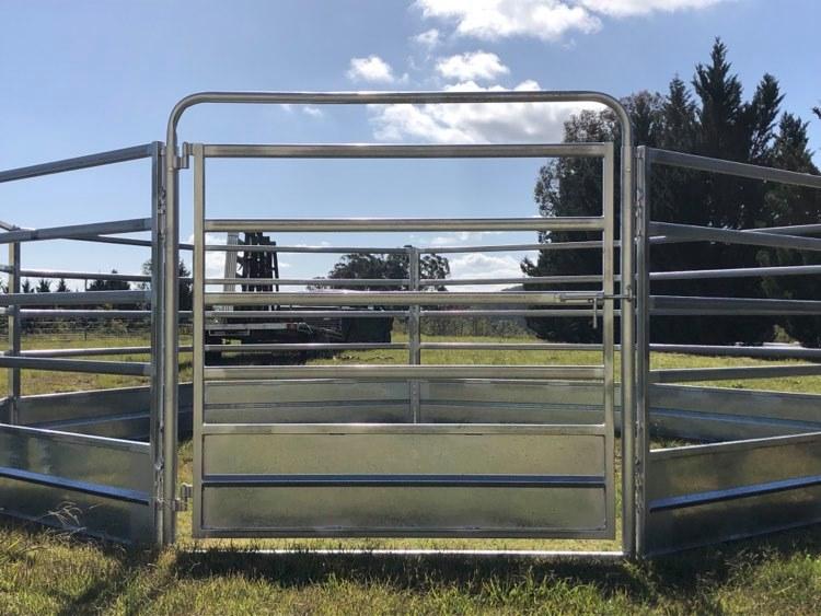 Horse Safe Skirted Rail - Gal Steel (6)