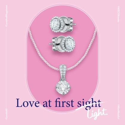 liontin berlian asli