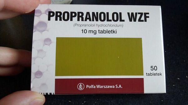 プロプラノロール