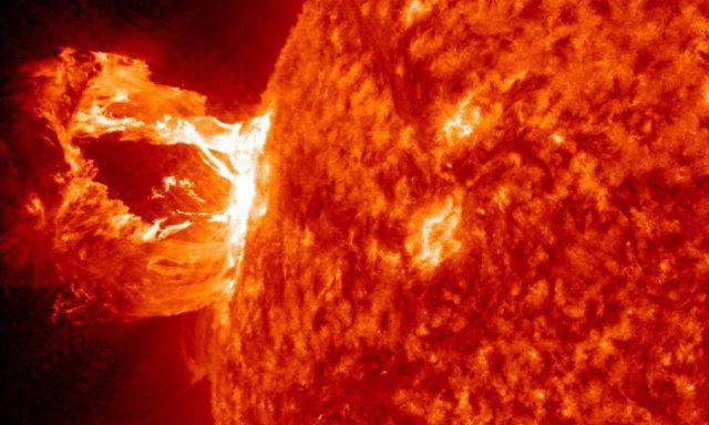 太陽の表面