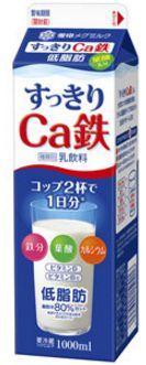 すっきりCa鉄 牛乳