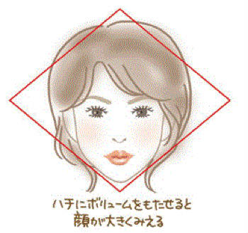 小顔に見える髪型2