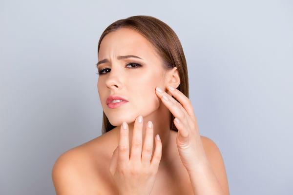 敏感肌による赤ら顔