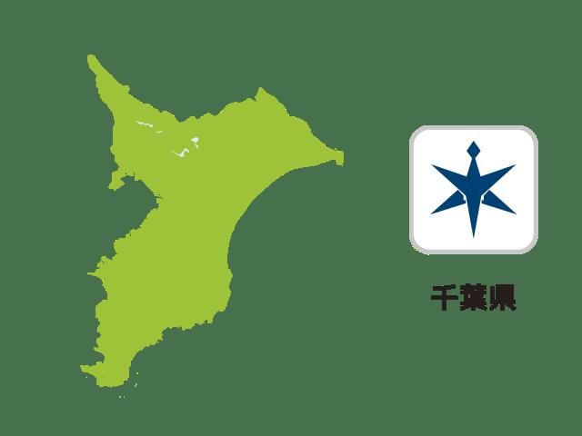 千葉県地図イラスト
