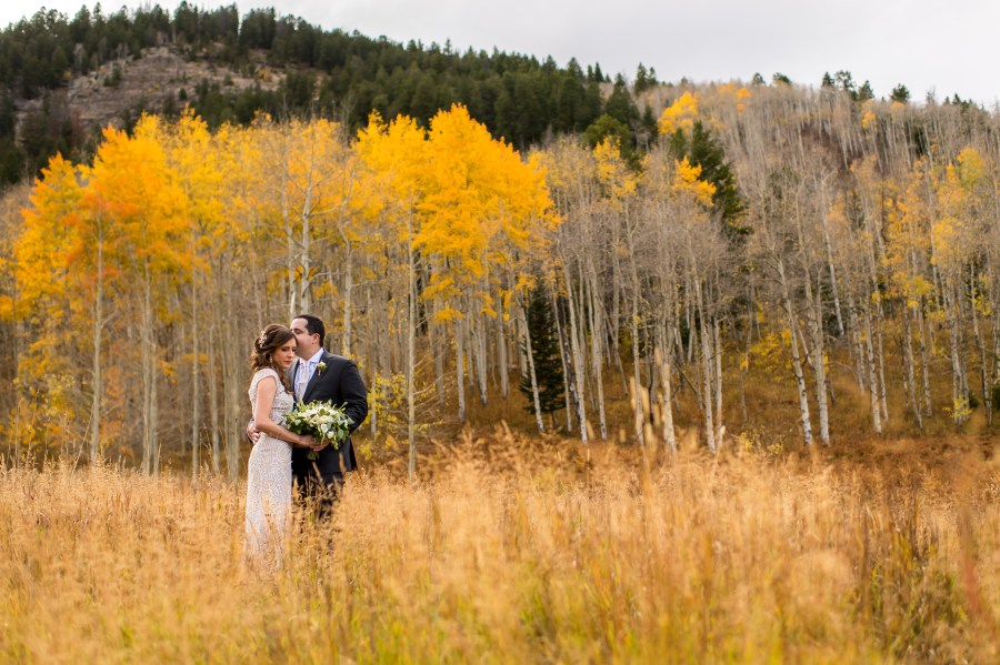 Beano's Cabin wedding at Beaver Creek