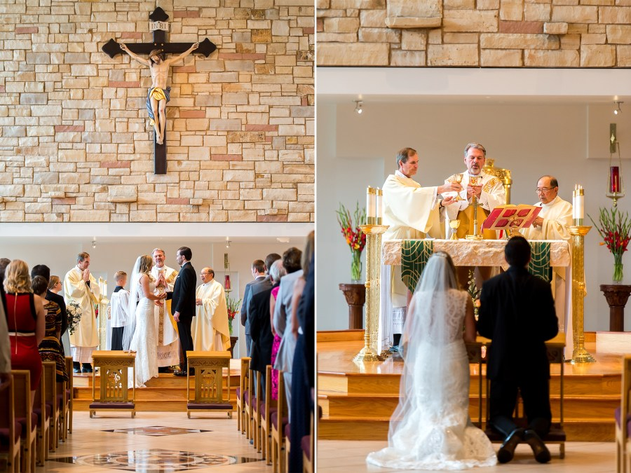 St. Mark Catholic Wedding Photos in Highlands Ranch