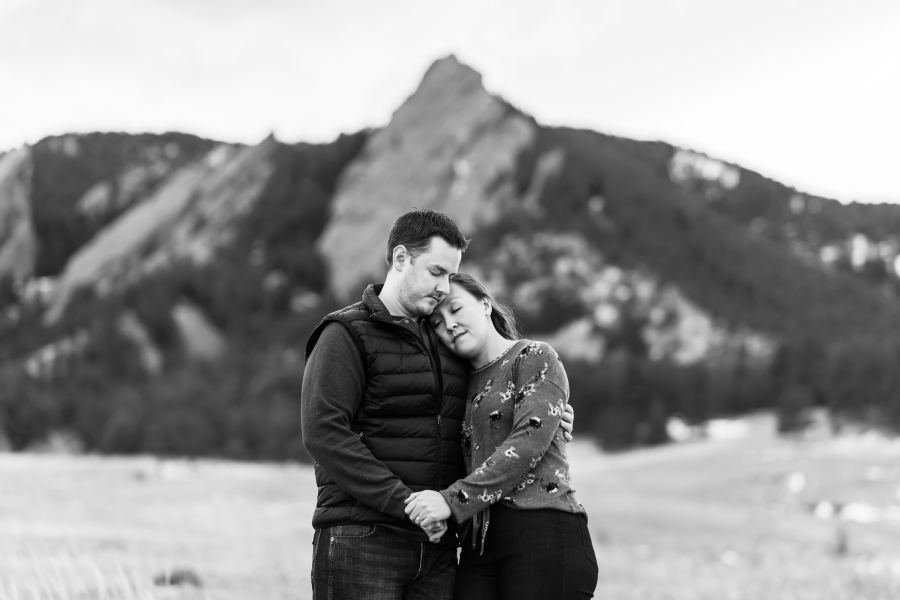 Chautauqua Park engagement photos in Boulder, Colorado, with Sarah and Kyle.