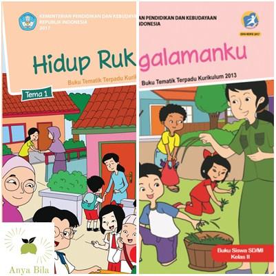 Download Buku Guru dan Buku Siswa SD Kelas 2 K13 Terlengkap