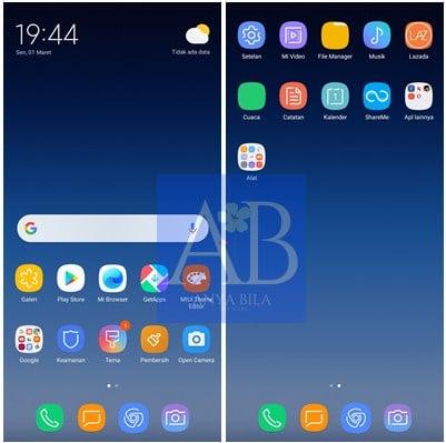 Tema Samsung S21 mtz Untuk Xiaomi MIUI 11 Permanent