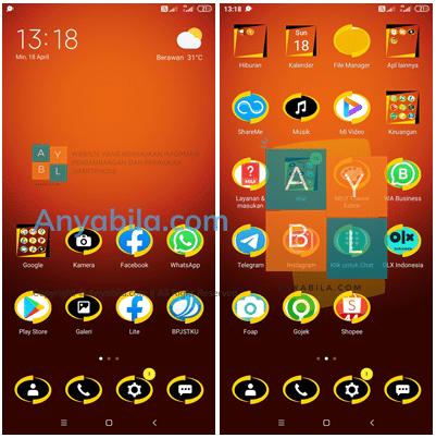 Tema Incredibles mtz Untuk Xiaomi Theme Tembus