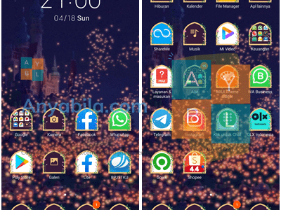Tema Tangled mtz Untuk Xiaomi Theme Terbaru