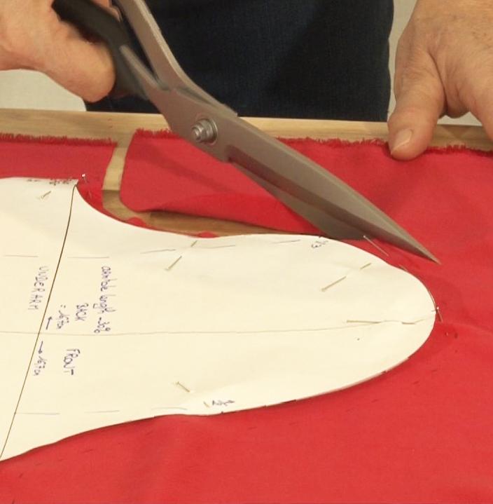 Apprendre la coupe des tissus