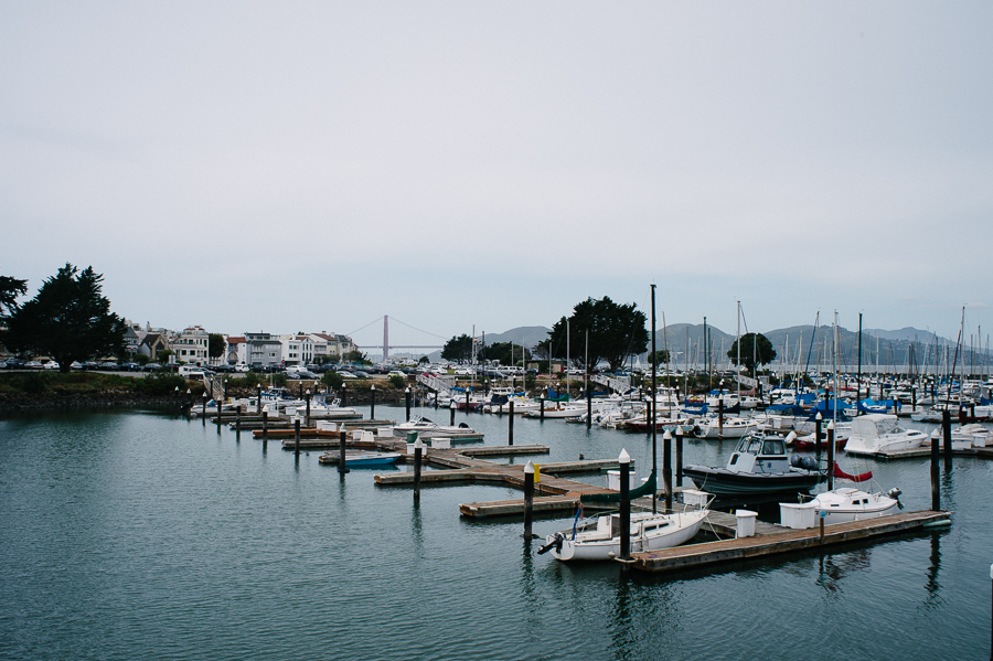 San Francisco marina
