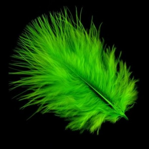 marabou-feathers-green