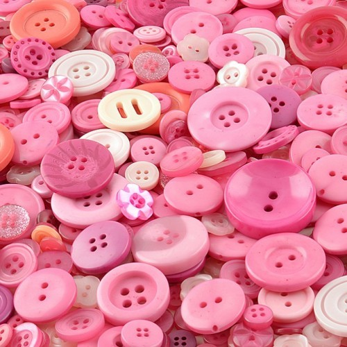 pink-craft-buttons