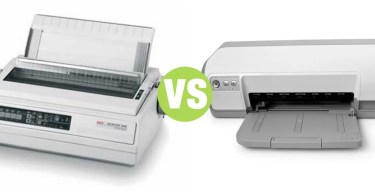 Difference Between Inkjet Printer and Dot Matrix Printer