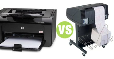 Difference Between Line Printer and Laser Printer