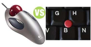 Difference Between Pointing Stick and Trackball