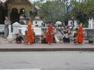 Luang Prabang Morning Alms