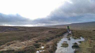 The road up from Harwood Shield to