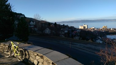 So Sunny. This is the viewpoint looking over the city which is just up above my house