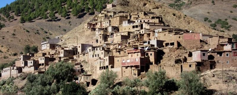 Berber village high atlas