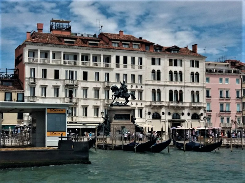 Life on the water in Venice