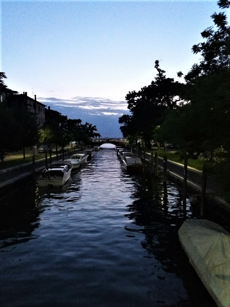 Canal in Lido