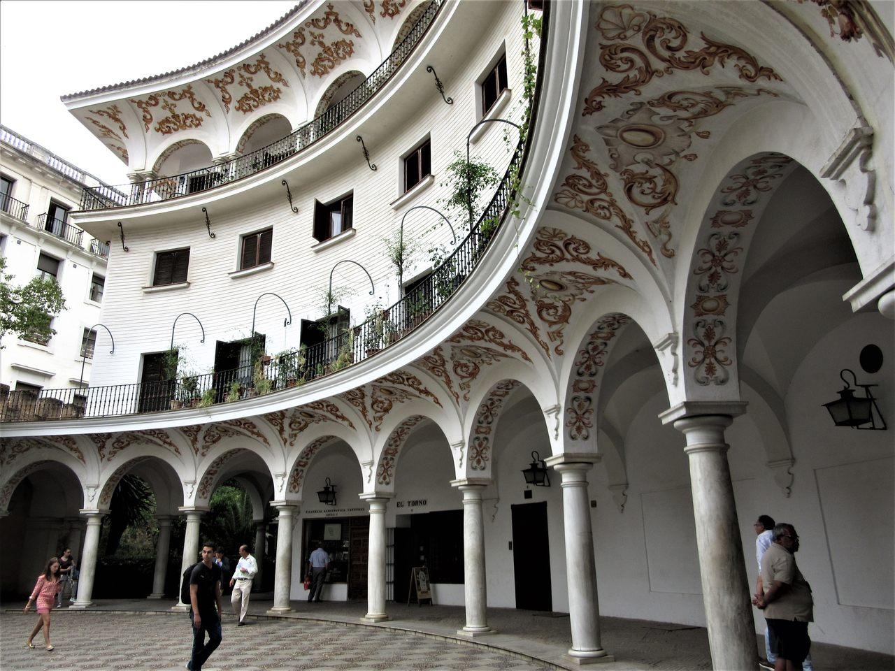 Plaza del Cabildo Seville